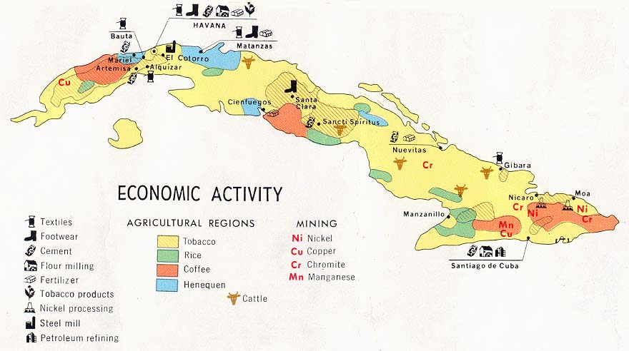 economic-map-of-cuba